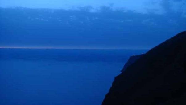 Dat Licht der Leuchtturm von Ponta do Pargo