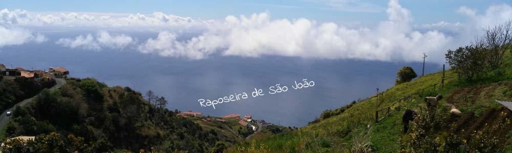 Die Umgebung des Ferienhauses auf Madeira