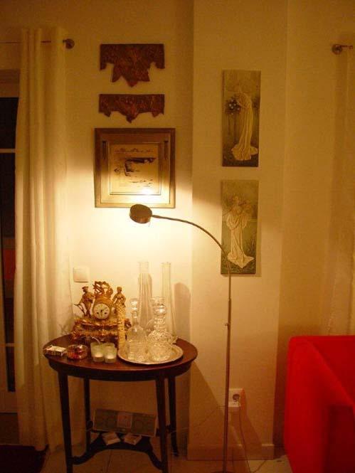 Alte Kunst und moderne Möbel im Ferienhaus Madeira